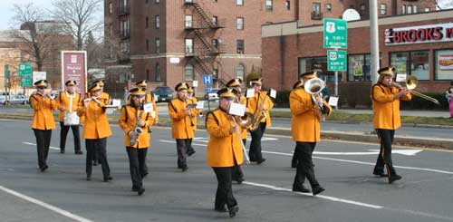 The Eagles Band in the Veterans Day Parade, 2006. [Photo via Discover Pittsfield]